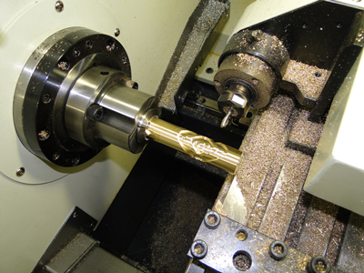 c axis part and tooling