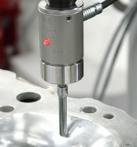 DP-4 Digitizing touch probe.  Accurate and reliable touch probe for CNC Digitizing and  Probing.