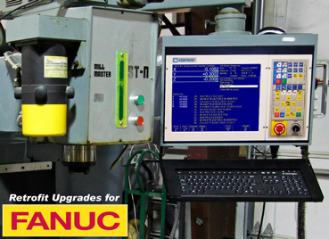 Fanuc Repair, Retrofits, Upgrades, Parts and Service