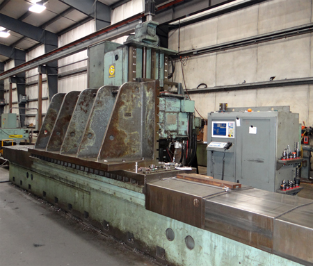 "Giddings and Lewis 5"" Table Mill CNC retrofit photo"