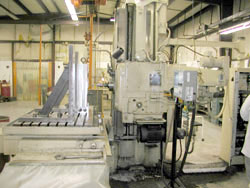 Four axis DeVlieg Horizontal boring mill