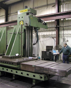 G&L 4 axis Horizontal Boring Mill