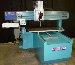 1999 SR-44 Standard Router  with a new CENTROID CNC control.  We replaced the aging Fagor 8025