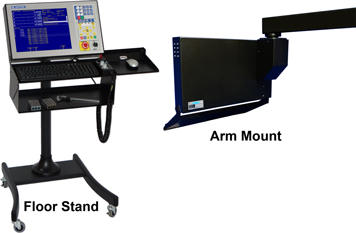 centroid cnc console mounting options
